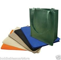 New Recycled Reusable Eco Friendly Grocery Shopping Tote Totes Bag Bags 13x15x6